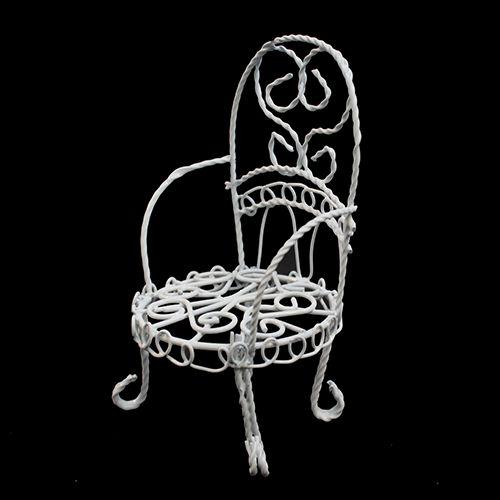 Металлическое мини-кресло