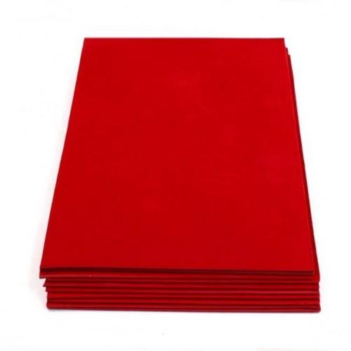 Фоамиран 2мм,Красный, цена за 1 лист