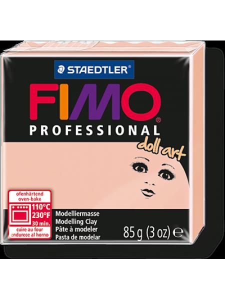 Полимерная глина FIMO professional doll art 454 гр(Германия)-полупрозрачный розовый-432