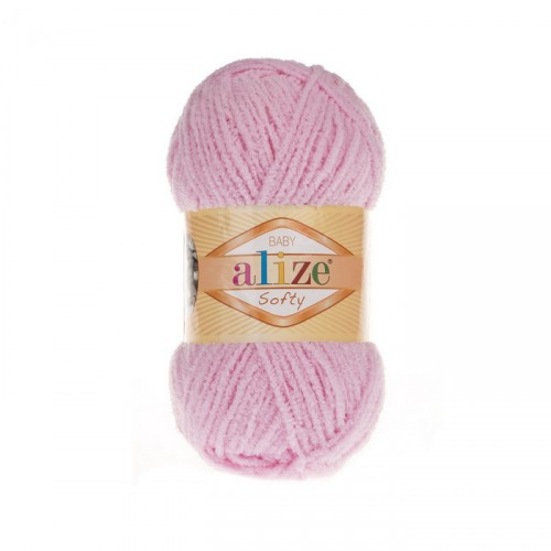Пряжа Alize Softy,цв-розовый,50 гр
