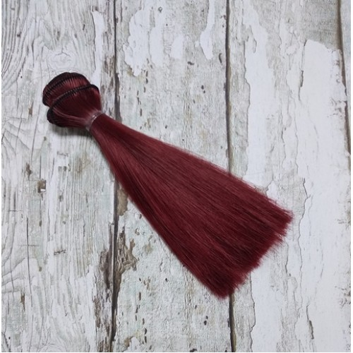 Трессы-прямые (волосы для кукол) -15см,015-9