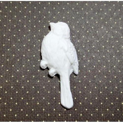 Фигурка из полимерной глины-Птичка