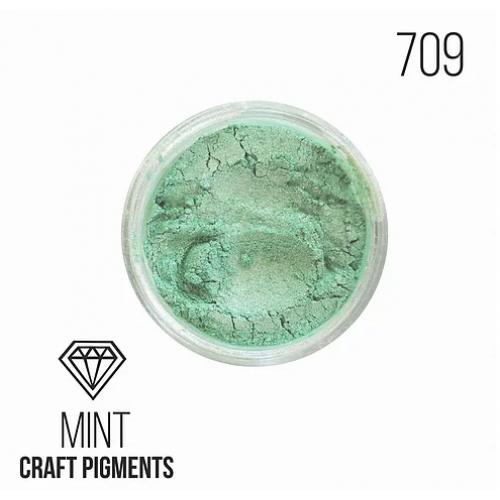 """Пигмент минеральный  CraftPigments """"Mint"""", мятный,10 мм,"""