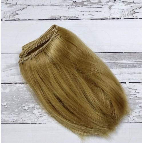 Трессы-прямые (волосы для кукол),10см