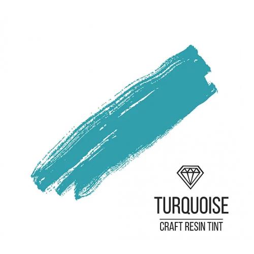 Краситель для смолы CraftResinTint-Бирюзовый,10 мм