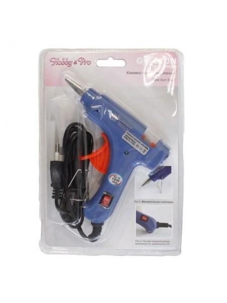 Пистолет клеевой малый, премиум, Hobby&Pro,с выключателем