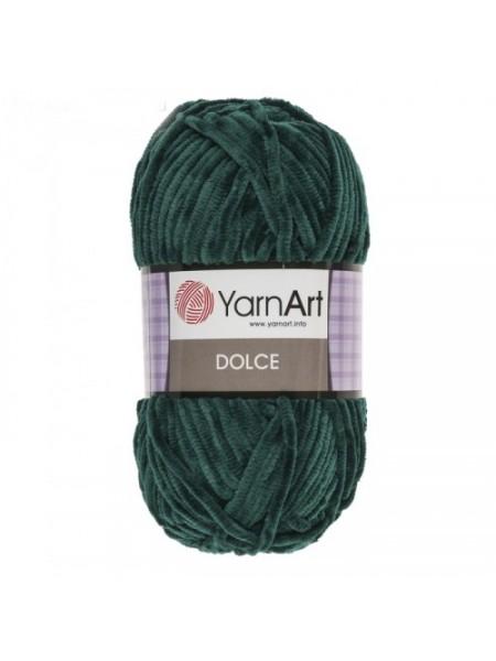 Плюшевая пряжа Dolce YarnArt ,№774,цв-изумруд,100гр
