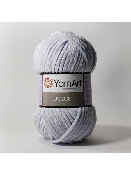Плюшевая пряжа Dolce YarnArt,№776 ,цв-св-фиолетовый,100гр