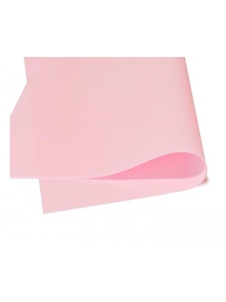 Зефирный фоамиран.розовый, 25*25 см
