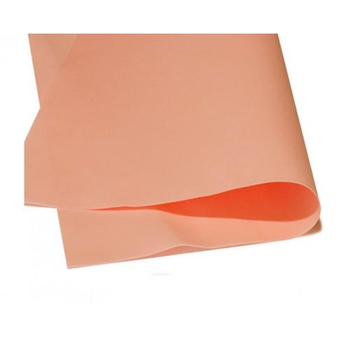 Зефирный фоамиран.персиковый, 50*50 см