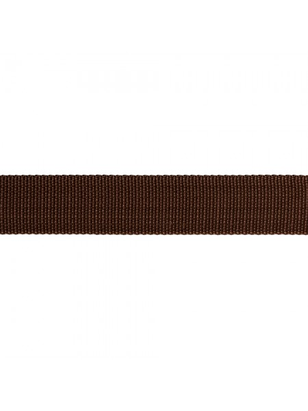 Стропа-ременная лента, 25мм,цв-коричневый,цена за 1 м