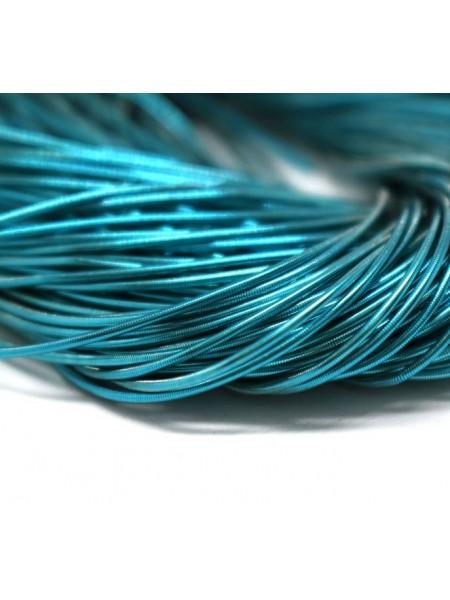 Канитель мягкая,цвет голубой,1 мм- 5 гр,№154