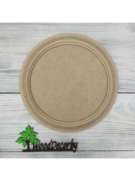 Заготовка - Артборд, круг с фаской двухслойный,20 см