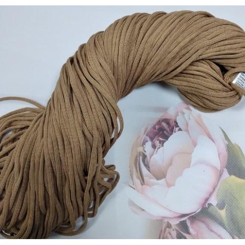Полиэфирный шнур для вязания,4мм,цв-коричневый,100м