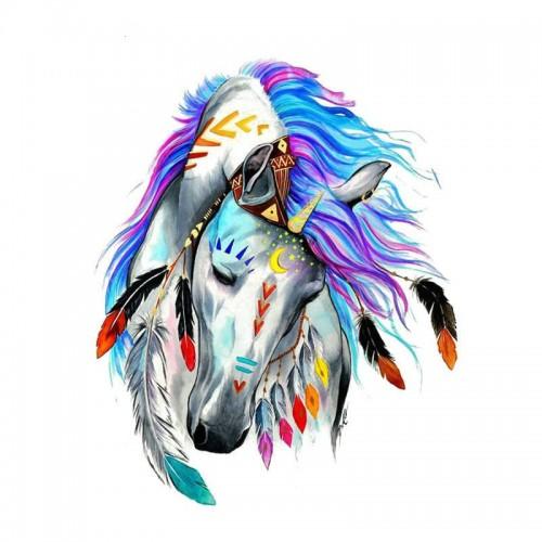 Термонаклейка- Лошадь 7,5*9 см