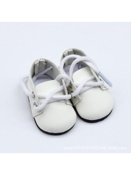 Ботиночки белые,5*2,8см