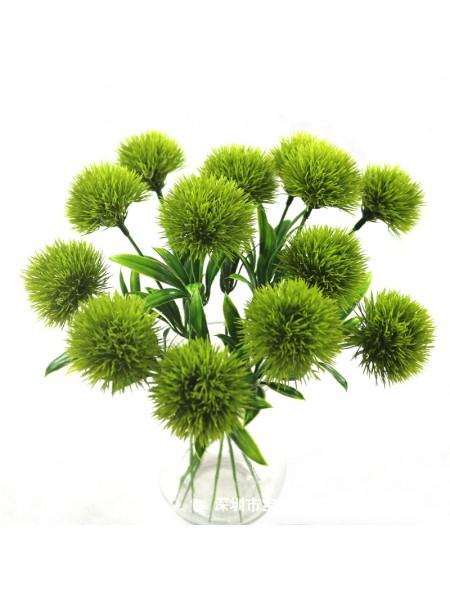 Веточка - Цветок пушистый,цв-зелёный,цена за 1 шт