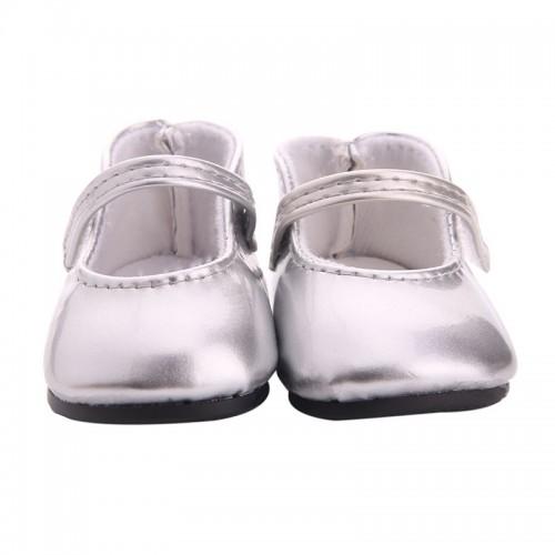 Туфельки серебряные,6,5см