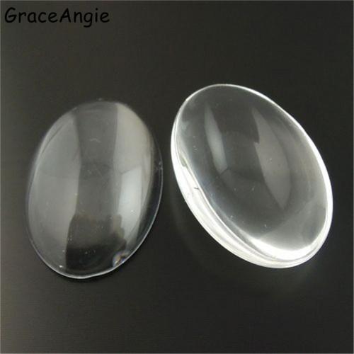 Кабашон-стеклышко,20*30 мм,цена за 1 шт