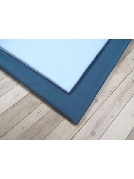 Мерный лоскут(хлопок)-цв-голубой,50*50 см.цена за отрез