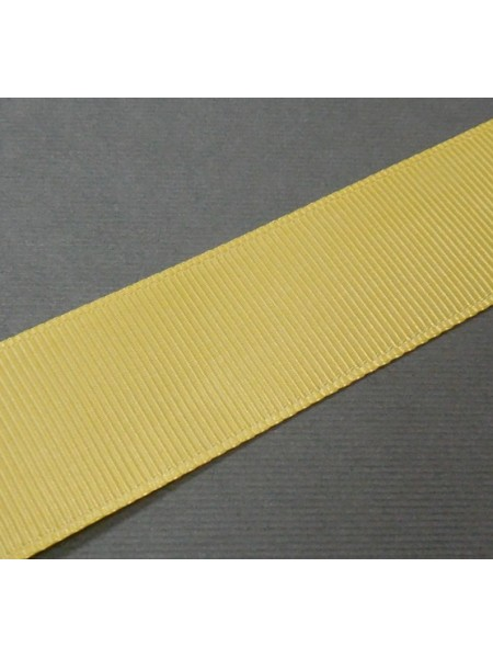 Лента репсовая,25мм.№062-горчично-жёлтый