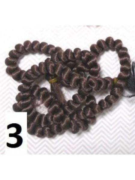 Волосы для кукол в жгутах №3,длина 1метр