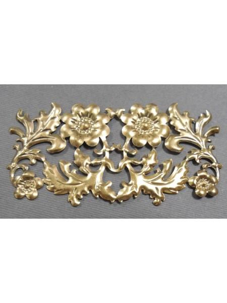 Декоративный элемент,цв-бронза.86*42мм,цена за 1 шт