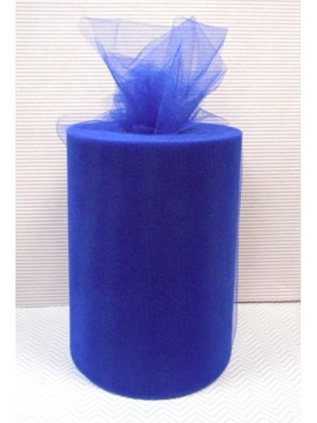 Лента фатиновая, 15 см цв-№-3,цв-васильковый,цена за 1 метр