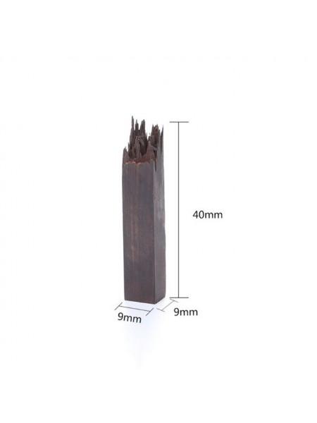 Деревянная заготовка для эпоксидной смолы, 9*9*40 мм