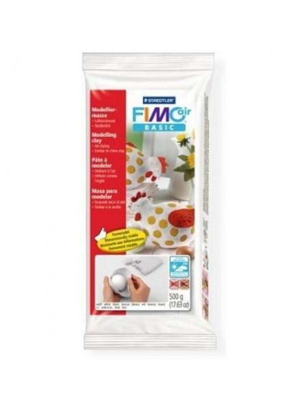 Полимерная глина FIMO air basic .500гр,цв-белый 8100-0