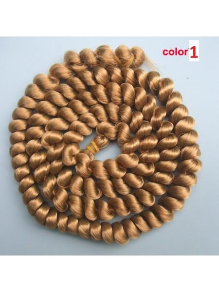 Волосы для кукол в жгутах №1,длина 1метр