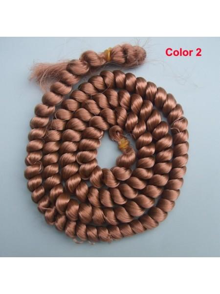 Волосы для кукол в жгутах №2,длина 1метр