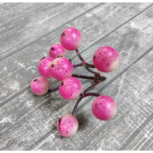 Ягодки розовые, цена за гроздь