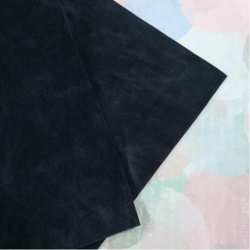 Искусственная замша,18*35см,цв-тёмно-серый