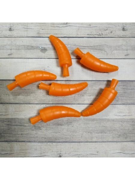 Нос морковка для снеговика,33 мм