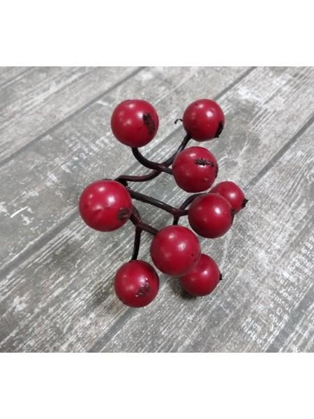 Ягодки красные, цена за гроздь