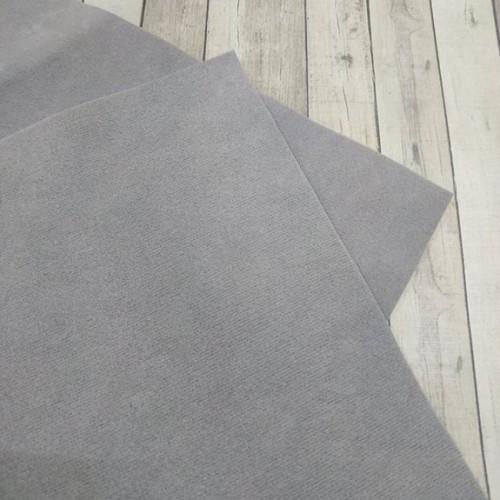 Искусственная замша,18*35см,цв-серый