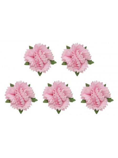 Гвоздики -набор-5 шт. розовые