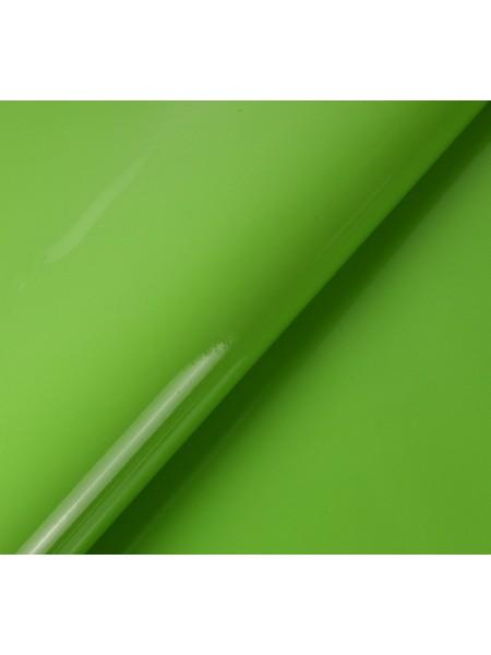 Искусственный лакированный кожзам, цв-салатовый, 23*32 см
