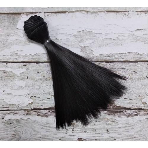 Трессы-прямые (волосы для кукол) , 15 см