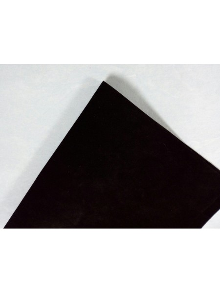 Искусственная замша,18*35см,цв-черный