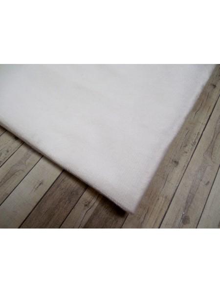 Велюр(плюш), белый,50*50 см