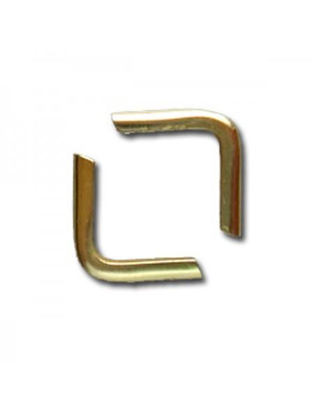 Уголки для альбомов 15 мм ,золото(поштучно)