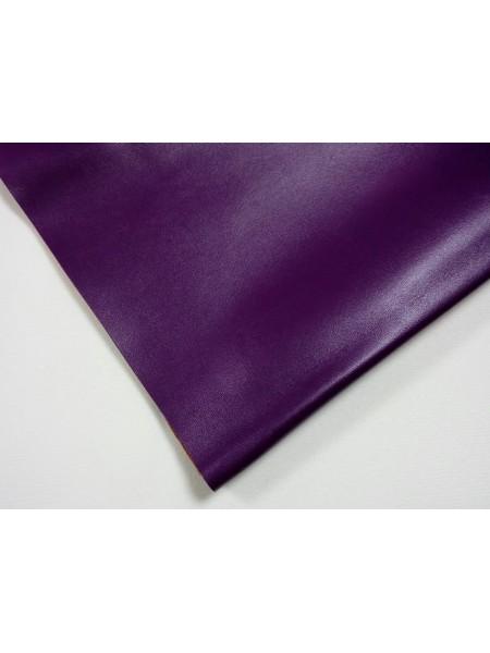 Искусственная кожа,23*35см,цв-фиолетовый
