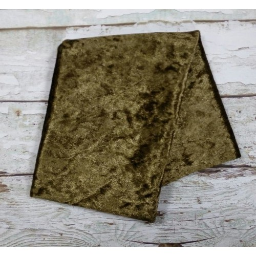Плюш- винтаж,47*47см , цвет болотный,цена за отрез