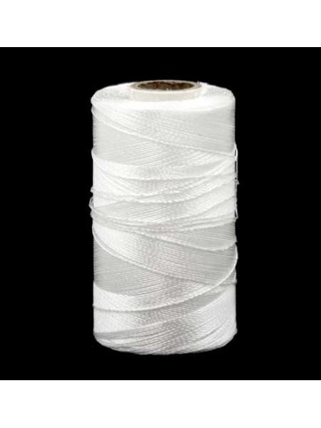 Вискозные нитки DOLI  для кистей и вышивки,кат-500 м-ЦВ-БЕЛЫЙ