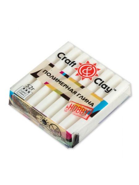 Полимерная глина Craft&Clay,цв- белый