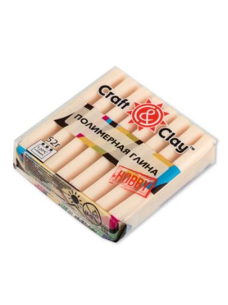 Полимерная глина Craft&Clay,цв- телесный светлый