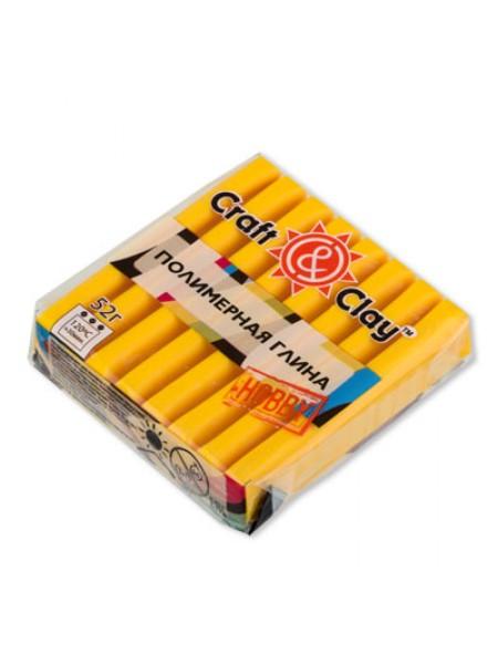 Полимерная глина Craft&Clay,цв- желтый