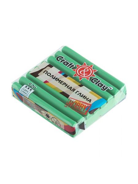 Полимерная глина Craft&Clay,цв-зеленый трилистник